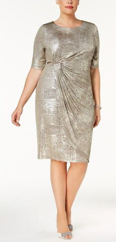 f05c5d744d3 21 Plus Size Wedding Guest Dresses with Sleeves - Plus Size Dresses - Plus  Size Fashion