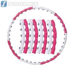 Hula-Hoop-Reifen-zum-Abnehmen-Fitness-Gymnastik-Massagenoppen-98cm-SHH007