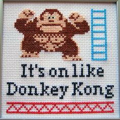 It's on like Donkey Kong pattern- Mom should make this for me :-)