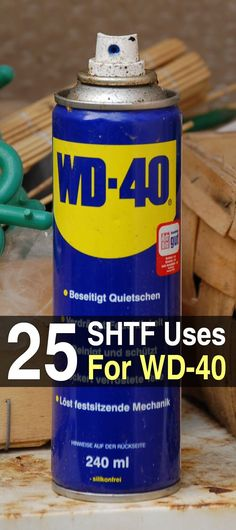 25 SHTF Uses For WD-40