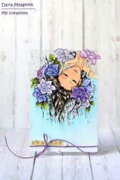 """My creations: """"Flowers for you"""" card"""