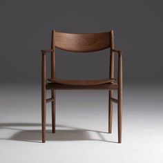 Wood Chair Kamuy wooden furniture collection by Naoto Fukasawa for Conde House Painted Wooden Chairs, Chair Design Wooden, Wooden Table And Chairs, Dining Chairs, Room Chairs, Japanese Chair, Japanese Furniture, Unique Wood Furniture, Furniture Design