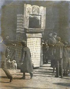 Punch & Judy in Edwardian London, 1906