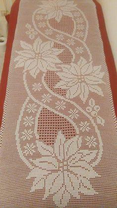 Crochet Patterns Filet, Holiday Crochet Patterns, Crochet Table Runner Pattern, Beading Patterns Free, Crochet Motif, Crochet Doilies, Cute Crochet, Needle Tatting Tutorial, Fillet Crochet