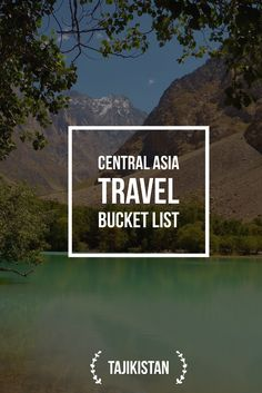 """Trek the sky-high mountains of Tajikistan and get to """"the Roof of the World"""" Explore the Persian Heritage of Tajikistan in Central Asia Travel Around The World, Around The Worlds, Central Asia, Travel Information, Sky High, Plan Your Trip, Asia Travel, Where To Go, Cool Places To Visit"""