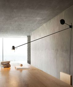 The Counterbalance wall lamp by Luceplan belongs to the eponymous collection from the designer Daniel Rybakken. The wall lamp boasts a special mechanism that allows the lampshade to be freely adjusted. A new wall version for the essential Counterb. Led Wall Lights, Led Wall Sconce, Led Lamp, Wall Sconces, Interior Lighting, Modern Lighting, Lighting Design, Ceiling Lighting, Swing Arm Wall Light