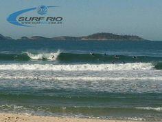 Arpoador às 07:25 hs - Veja o Boletim das Ondas em www.surfrio.com.br