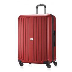 """X-Berg - Koffer Hartschale Rot matt, TSA, 75 cm, 126 Liter; Roter #Rollkoffer aus der Serie """"X-Berg"""" von #Hauptstadtkoffer.  #Hartschalenkoffer #Rot #Rollkoffer #Trolley #Koffer #Travel #Luggage #Reisen #Urlaub #red #rouge => mehr Rote Koffer: https://hauptstadtkoffer.de/de/catalogsearch/result/index/?color=26&limit=90&q=Rot"""