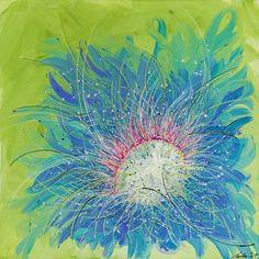 Acryl on canvas 95 x 95 cm Paintings For Sale, Digital Prints, Earth, Landscape, Canvas, Fingerprints, Tela, Scenery, Canvases