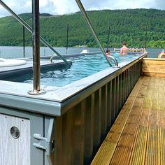 Home - Tanqua Pools Shipping Container Swimming Pool, Container Pool, Shipping Container House Plans, Shipping Containers, Above Ground Pool, In Ground Pools, Swimming Coach, Pool Companies, Small Swimming Pools