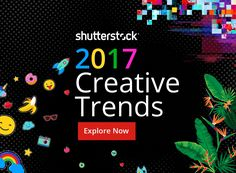 Shutterstock's Infographic looks at the creative trends that will dominate 2017. Driven by data, see the percentage increase in searches for each trend.