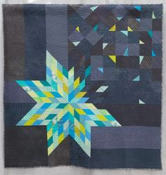 Deconstructed Lonestar by Right Sides Together from Quiltcon 2015 #modern #quilts
