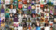 The faces of Facebook. En ella se recogen en orden cronológico las imágenes de todos los perfiles existentes en la red social. El proyecto, de la artista Natalia Rojas agrupa hasta el momento más de 1,2 billones de fotografías.