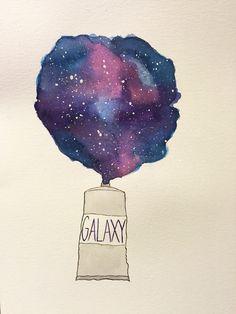 Galaxy watercolor                                                                                                                                                                                 More