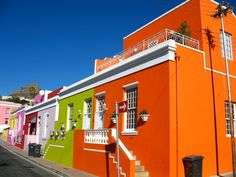 A photographer's wet dream, the technicolour homes of the Muslim community of Bo-Kaap are Capetonian icons. Nearby, the Bo-Kaap Museum explains the social history of the former slave houses.