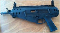 So freaking cool! Beretta ARX 160 .22 LR pistol!