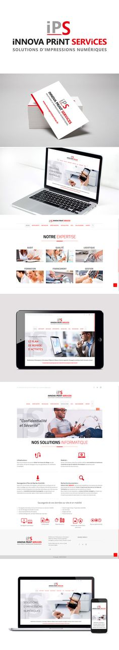 Site INNOVA PRINT SERVICES by Pépite Communication
