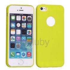 Flexible Silikonhülle für iPhone 5S 5 - Green