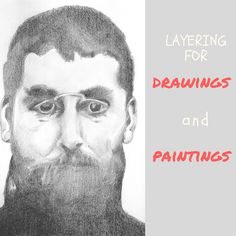 Layering for drawings and paintings by Sandrine Pelissier on ARTiful, painting demos
