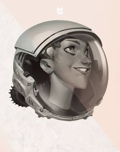 (3) Max Grecke - Did a girl in a space helmet a good while back,...
