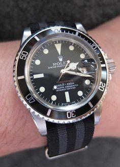 NATO strap Rolex