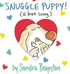 June 23 & 24, 2015. Snuggle Puppy's parent expresses love for his fuzzy little one through a kind of song that includes kisses.