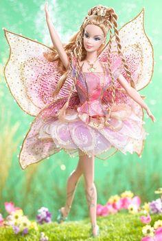 Elina Barbie Doll- Beautiful fairy with beautiful hair.