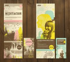 Print - Sauce Festival by Lia Martini, via Behance