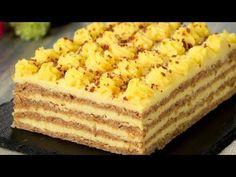 Această prăjitură cu nuci întrece orice tort! Atât de gustoasă, toți vor dori să o guste Romanian Desserts, Romanian Food, Food Cakes, Delicious Deserts, Yummy Food, Bulgarian Recipes, Crazy Cakes, Food Tasting, Party Desserts