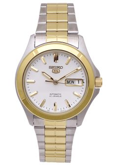 Price:$86.10 #watches Seiko SNKK94K1, This Seiko Automatic timepiece is perfect for the casual man.