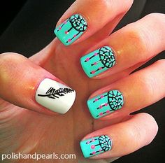Dream-catcher Nail Art