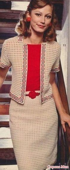 Костюм в стиле Коко Шанель - Вязание - Страна Мам