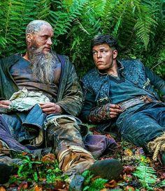 Vikings season 4 - Ragnar and Ivar