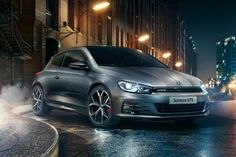 The new Scirocco GTS revealed.  #Volkswagen #Scirocco #sciroccoGTS #2016cars