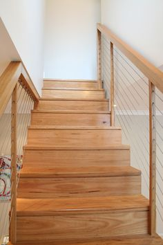 Cool wooden staircase