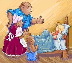 The Three Little Bears Cartoon