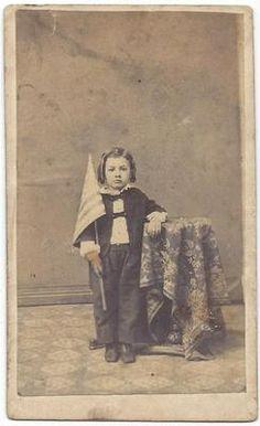 Circa 1860'S CIVIL WAR ERA CDV Patriotic BOY With A Flag W 2 Cent Stamp | eBay