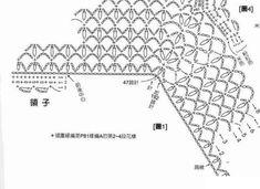Схема вязания кокетки