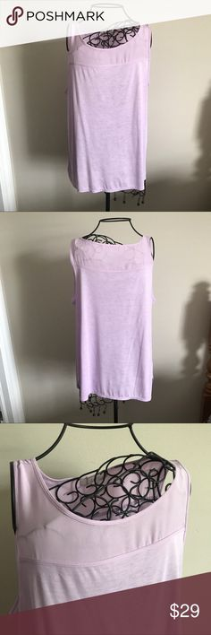 "Lilac Purple LOFT Tank. NWOT New without tags. Never worn. Beautiful lilac color. Mixed fabrics. Material content listed on tag in last photo. Size large, true to size. Measurements lying flat: armpit to armpit 20"" and length 28"".  ❌ No trades or off Poshmark transactions.   👌🏻Quick shipping.   💁🏻Offers welcome through ""Make an Offer"" feature.   👗👠 Bundle discount.   ❔ Feel free to ask any questions. LOFT Tops Tank Tops"