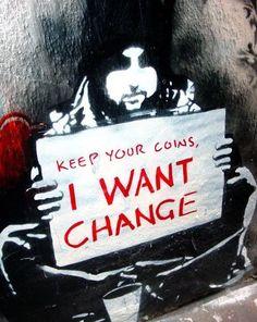 WANT CHANGE