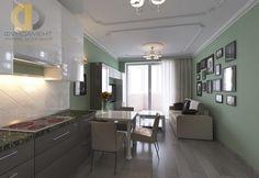 Кухня в стиле дизайна неоклассика по адресу г. Москва, ул. Твардовского, д. 12, к. 3 фото 2015 года