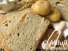 This tasty, soft potato bread is great for sandwiches or served with soup. Bread Recipes, Cooking Recipes, Sandwiches, Potato Bread, No Sugar Foods, Bread Board, Fresh Bread, Bread Rolls, Cooking Time