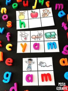am word family centers activities and so many more amazing teaching short vowel ideas Short I Words, E Words, Vowel Practice, Short Vowel Activities, Cvc Word Families, Sounding Out Words, Short Vowels, Different Words, Family Games