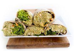 Kiireisen Quinoa-Avocado Wrapit (V)
