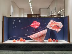 Lindell_DS_Hermes_160217_01.jpg 1,000×750 pixels Window Display Design, Store Window Displays, Retail Windows, Store Windows, Hermes Window, Exhibition Display, Visual Display, Store Design, Retail Design