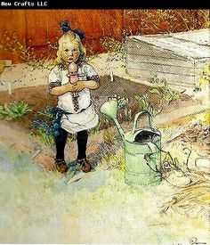 "Carl Larsson den underliga dockan...translates ""to the strange doll"""