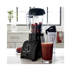 Vitamix ® Blender To-Go Cup - Crate and Barrel Smoothie Cup, Smoothie Recipes, Mixer, Vitamix Blender, Gifts For Cooks, Meatloaf Recipes, Shrimp Recipes, Carafe, Crate And Barrel