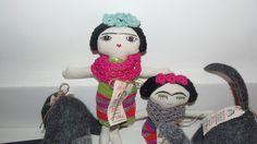 Bonecas à venda no Museu Histórico Nacional - Rio de Janeiro - Brasil - Exposição Frida e Eu - Olimpíadas Rio 2016.