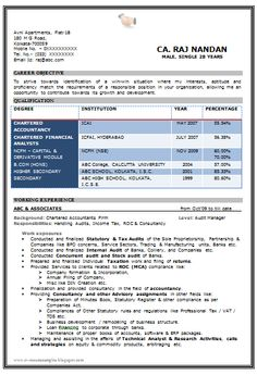 beautiful resume format in word doc with excellent vacab 1 - Word Doc Resume Template