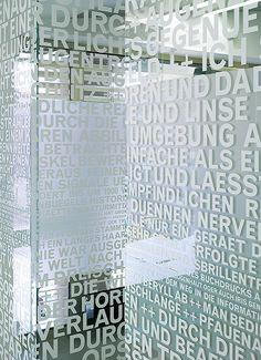 Kästner Optik, Stuttgart. A project by Ippolito Fleitz Group – Identity Architects.